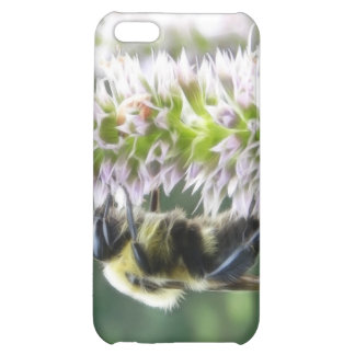 Agastache Flowers With Bumblebee iPhone 5C Cover