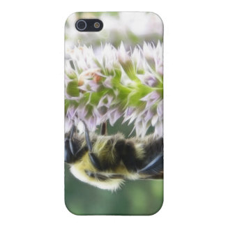 Agastache Flowers With Bumblebee Cover For iPhone 5