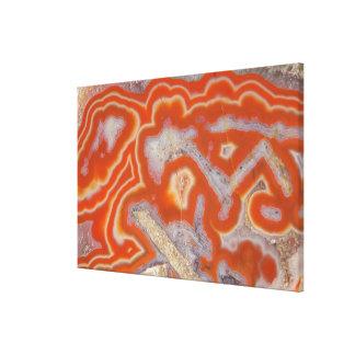 Agate sample canvas print