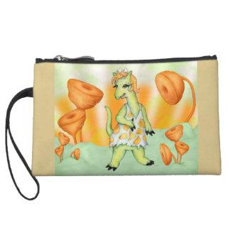 AGATHE CUTE ALIEN Mini Clutch Bag Wristlet Clutches