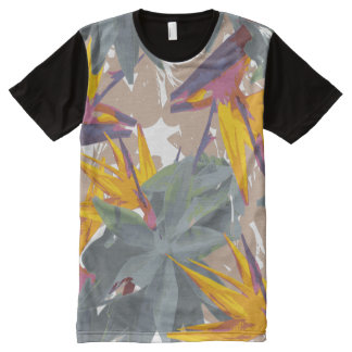 AGAVE + BIRD OF PARADISE All-Over PRINT T-Shirt