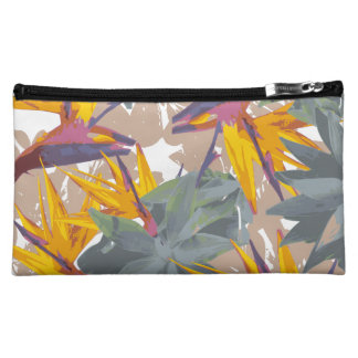 AGAVE + BIRD OF PARADISE COSMETIC BAGS