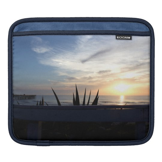 Agave Cactus Ocean Sunrise iPad Sleeve