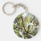 Agave Cactuses Key Ring