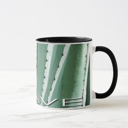 AGAVE Mug, unique Agave tequilana design Mug
