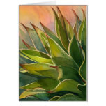 Agave watercolor notecard greeting card