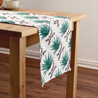 agave you my heart short table runner