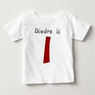 Age and Name  Customizable 1st Birthday Tshirt