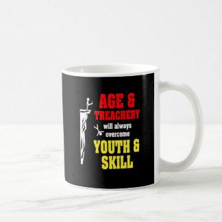 Age and Treachery Basic White Mug