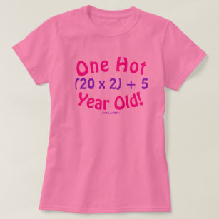 Age Is Just A Number Birthday T Shirt