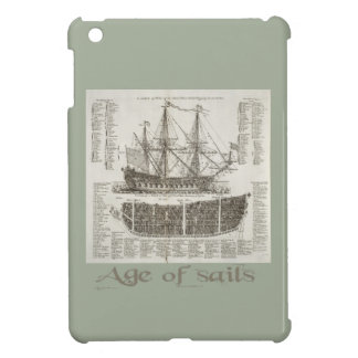 Age of Sails Case For The iPad Mini