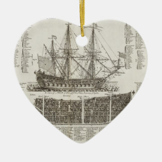 Age of Sails Ceramic Heart Decoration