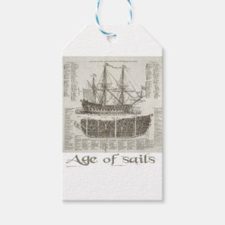 Age of Sails Gift Tags