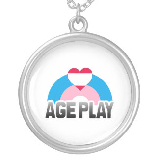 AGE PLAY RAINBOW PERSONALIZED NECKLACE
