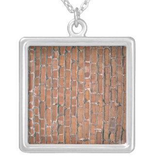 Aged and Damaged Light Brown Brick Wall Pendants