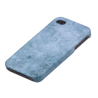 Aged and Worn Blue Vintage Texture iPhone 4/4S Cases