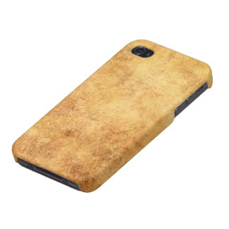Aged and Worn Brown Vintage Texture iPhone 4/4S Cover