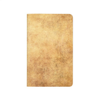 Aged and Worn Brown Vintage Texture Journal
