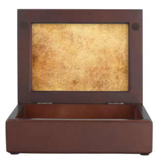 Aged and Worn Brown Vintage Texture Memory Box
