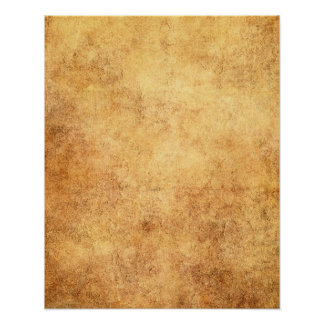 Aged and Worn Brown Vintage Texture Poster