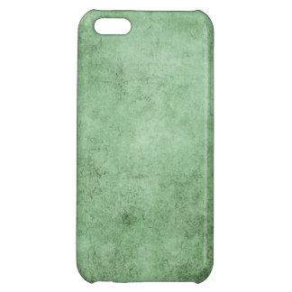 Aged and Worn Green Vintage Texture iPhone 5C Cover