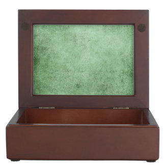 Aged and Worn Green Vintage Texture Memory Box
