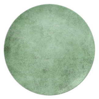 Aged and Worn Green Vintage Texture Party Plates