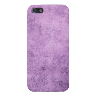 Aged and Worn Purple Vintage Texture iPhone 5/5S Cases