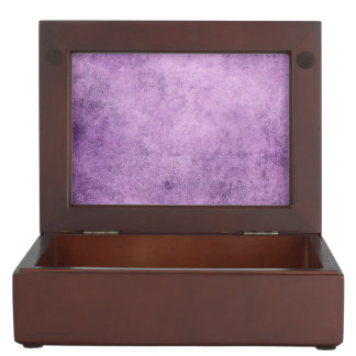Aged and Worn Purple Vintage Texture Keepsake Boxes