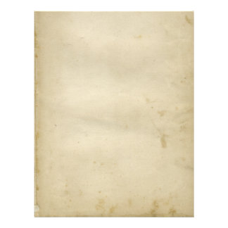 Aged Blank Antique Stained Paper Retro Inspired 21.5 Cm X 28 Cm Flyer