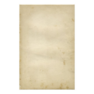 Aged Blank Antique Stained Paper Retro Inspired Custom Stationery