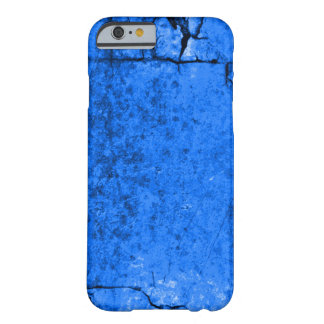 Aged Blue Astral Parchment Texture Barely There iPhone 6 Case
