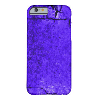 Aged Blue Djinn Parchment Texture Barely There iPhone 6 Case