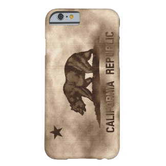 Aged California Flag Barely There iPhone 6 Case
