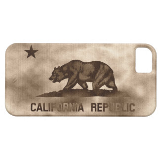 Aged California Flag iPhone 5 Covers