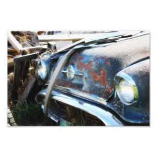 Aged Car Photo Print