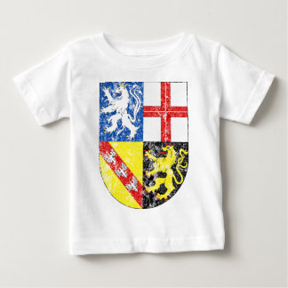Aged Coat of Arms of Saarland Baby T-Shirt