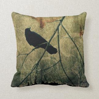 Aged Damask Cushion