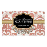 Aged Distressed Damask Golden Bling Look Wedding