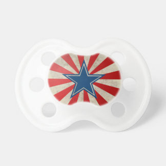 Aged Glory - Red, White and Blue Baby Pacifier