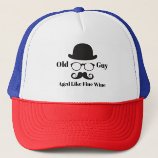 Aged Like Fine Wine Trucker Hat