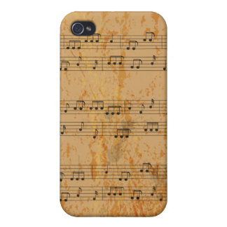 Aged Music - Customize Template Case For iPhone 4