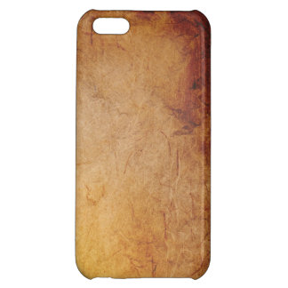 Aged Paper Cover For iPhone 5C