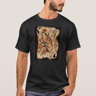 Aged Paper Goannas T-Shirt