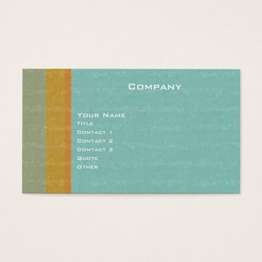 Aged Retro Business Card
