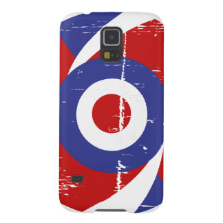 Aged retro Mod target design Cases For Galaxy S5