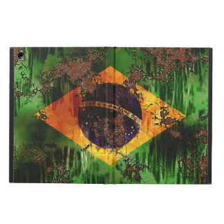 Aged Rusted Brazil Flag iPad Air Case