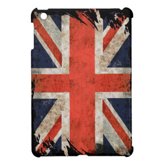 Aged shredded Union Jack Case For The iPad Mini