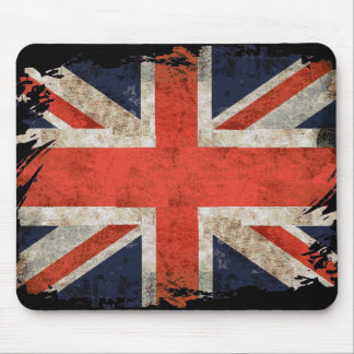 Aged shredded Union Jack Mouse Mat