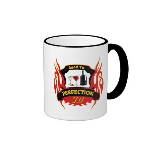 Aged To Perfection 40th Birthday Gifts Mugs